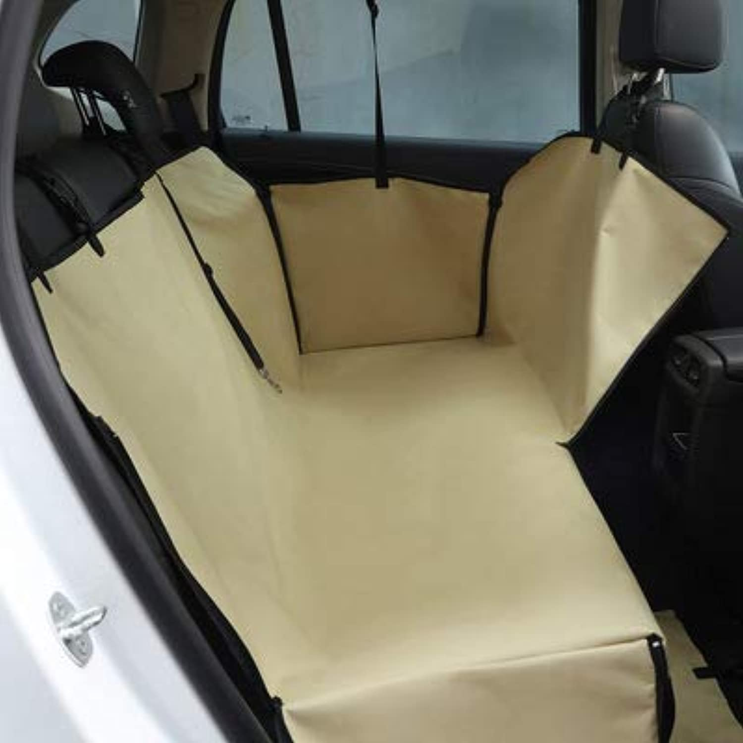 Car Rear Seat Mat for Dogs Boot Liner Bumper Predector Universal for All Kinds of Cars Back Seat Car Boot Predector Cover Waterproof 130  150  55Cm