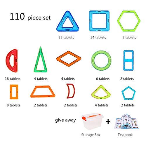 kids toys Film magnétique Pur 2-3-6 Ans garçon Jouets magnétiques empilables, Puzzles assemblant des Jouets pour Enfants, éducation créative Aimant garçon Jouets