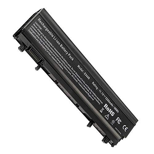 Huiyuan 6cell 5200mAh VV0NF N5YH9 Laptop accessories Compatible for Dell Latitude E5540 E5440 WGCW6 CXF66 VJXMC 0M7T5F 0K8HC 1N9C0 7W6K0 F49WX NVWGM