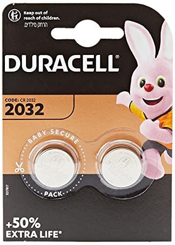Duracell CR2032- Pilas de botón de litio de 3 V, 5x2 unidades