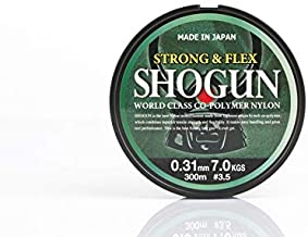 Shogun fishing line,0.31mm X 300m,5/shogun31
