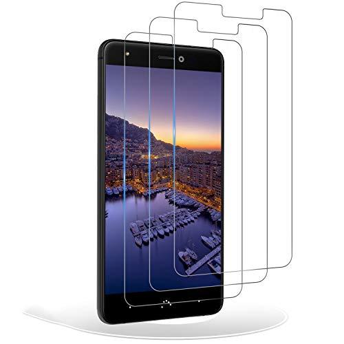 RIIMUHIR Protector de Pantalla para BQ Aquaris X/X Pro,Cristal Templado BQ Aquaris X/X Pro,Vidrio Templado 9H Dureza 3D Touch Compatible para BQ Aquaris X/X Pro, 3 Unidades