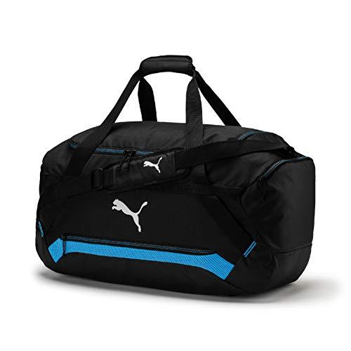 PUMA Final Pro M Bag Sporttasche, Black-Azure Blue, UA