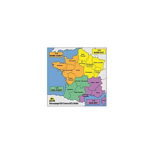Motodak GPS IGN-kaart Globe 1/2 Zuid Frankrijk 1/25000e