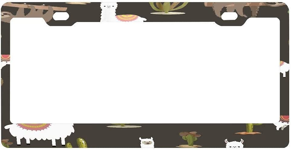 xiaochan License Plate Frame - Front and Max 49% OFF Rear Max 75% OFF Prot