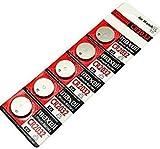 Maxell Hitachi CR2032 3V Lithium Button Coin Cell Battery (5 Pcs)