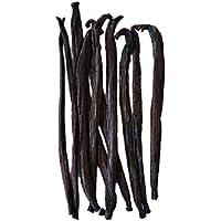 Native Vanilla - Vainas frescas de vainilla tahitiana para extractos - Semillas de grado B al por mayor - 10 vainas