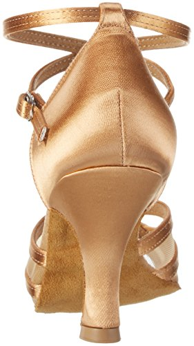 Diamant Damen Tanzschuhe 035-108-087 Standard & Latein, Beige (Bronze), 38 2/3 EU (5.5 UK) - 3