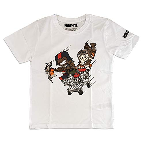 Fortnite - Camiseta para niño Blanco 140