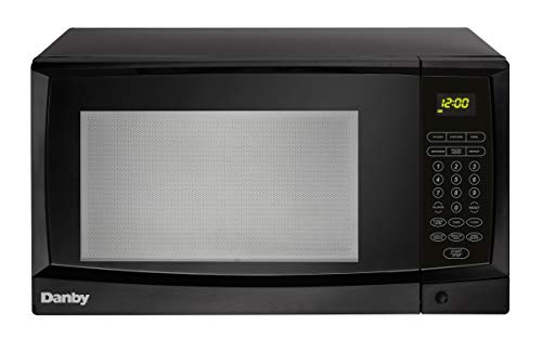 Microwave Oven 1.1 Cu. Ft. Black, 1000 Watts