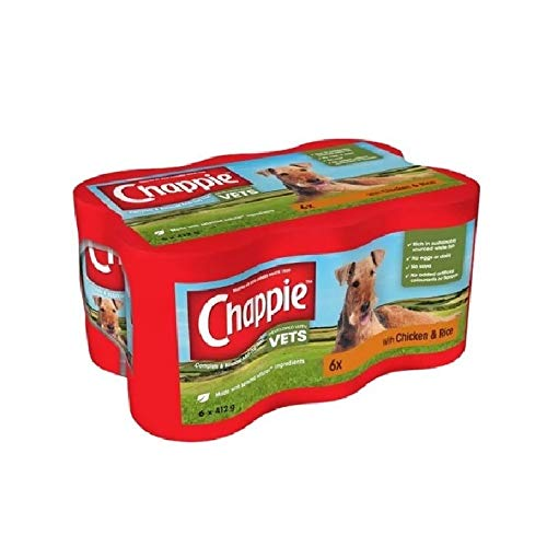 Chappie Chicken And Rice Dog Food (6 Tins) (One Size) (May Vary)