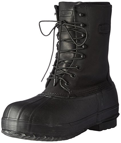 "LaCrosse Men's 600008 Iceman 10"" Outdoor Boot, Black - 9 M"
