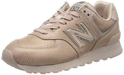 New Balance Damen 574v2 Sneaker, Pink (Pink Soj), 41.5 EU