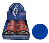 Jake's Mint Chew Cinnamon Pouch 10 Cans with DC Crafts Nation Skin Can Cover - Blue
