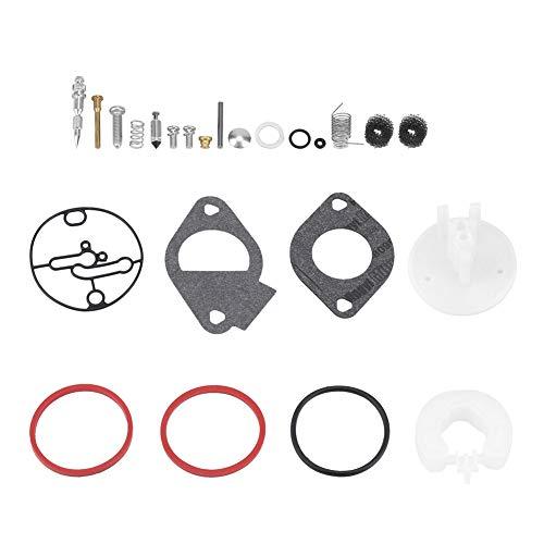 Garosa Carburateur-reparatieset van metaal, voor carburateur, professionele controle van permanente vervanging, carburateurs, reparatieset, afdichting membraan voor carburateurs, grasmaaiers.
