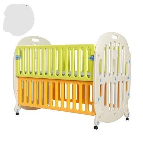 VIUNCE Cunas para bebés Nido para bebés Cuna para bebés Respaldo para el Medio Ambiente Cama de Cuna para recién Nacidos con Mesa Enrollable iluminada Cuna para bebés encendida Bebe Cuna