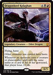 Magic: The Gathering - Dragonlord Kolaghan (218/264) - Dragons of Tarkir