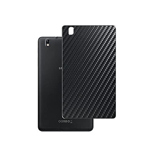 VacFun 2 Piezas Protector de pantalla Posterior, compatible con Samsung Galaxy Tab Pro SM-T32 0/ SM-T321 / SM-T325 8.4', Película de Trasera de Fibra de carbono negra Skin Piel