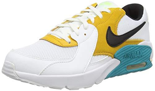 Nike Air MAX Excee, Zapatillas para Correr, White Black Oracle Aqua Ghost Green, 39 EU