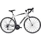 Tommaso Imola Endurance Aluminum Road Bike, Shimano Claris R2000, 24 Speeds - White - Medium