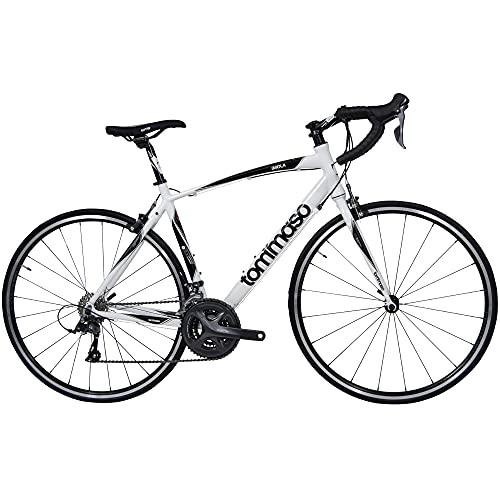 Tommaso Imola Endurance Aluminum Road Bike, Shimano Claris R2000, 24...