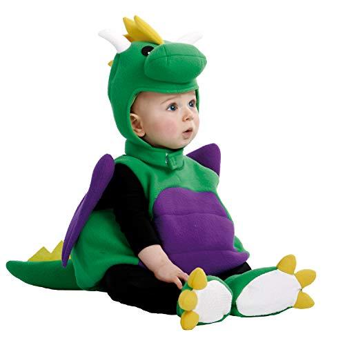 My Other Me Me-203297 Disfraz de bebé dinosaurio, 0-6 meses (Viving Costumes 203297)