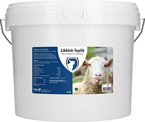 Holland Animal Care Bloc à Lécher Toplik Mouton/Agneau - 20 kg