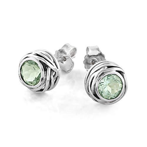 Graceful Swirl Sterling Earrings - 7