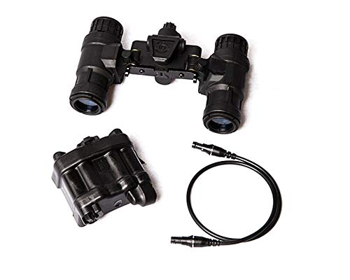FMA Tactical Green Light AN/PVS31 Dummy Night Vision Goggle Model No Function NVG with Battery Case
