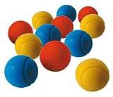 Balle De Tennis Mousse D.7cm Assorti - Sachet De 12 [Jouet]