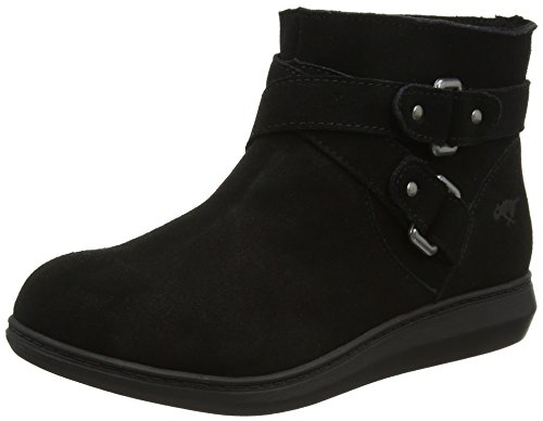 Rocket Dog Manilla Womens Ladies Slip On Casual Boots Shoes Black 8 US