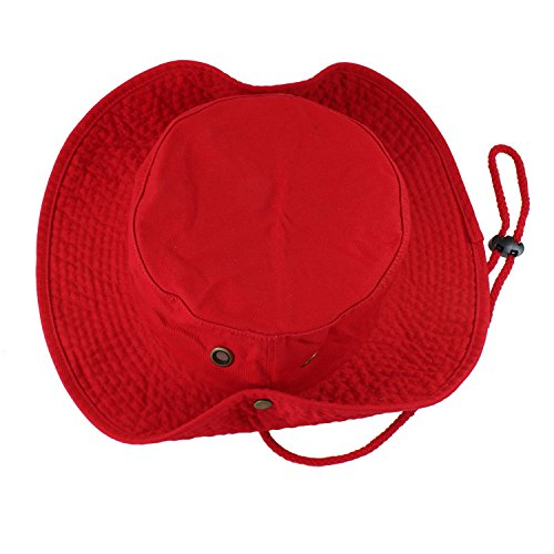 Product Image 3: Gelante 100% Cotton Stone-Washed Safari Booney Sun Hats 1910-Red-S/M