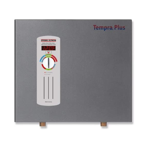 Stiebel Eltron Tempra 15 Plus Electric Tankless Whole House Water Heater, 240 V, 14.4 kW 1 Superior, reliable performance Superior technical support Simple design of plumbing system