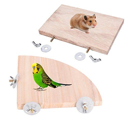 BraveWind papegaai vogel kauwen speelgoed slijpen steen mineralen steen stokken molar speelgoed papegaai tanden zorg schoon gereedschap met kleurrijke kralen, Parrot Platform