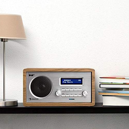 auna Harmonica Dab+ / FM - Radio Digital, Retro, Vintage, Búsqueda de emisora...