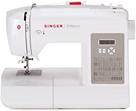 SINGER Factory Serviced 6180 Brilliance 80-Stitch Computerized Portable Sewing Machine