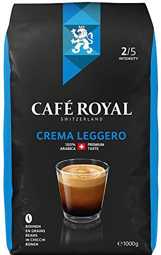 Café Royal Crema Leggero Roasted Coffee Beans, 1 kg