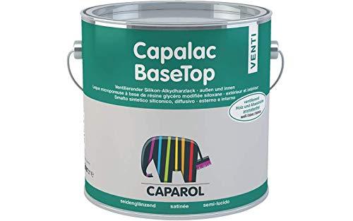Caparol Capalac BaseTop Venti Silikon-Alkydharzlack Weiß Seidenglänzend außen/innen 10 Liter