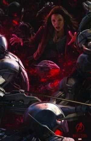 The Avengers : Age of Ultron – Film Poster Plakat Drucken Bild – 43.2 x 60.7cm Größe Grösse Filmplakat Scarlet Witch
