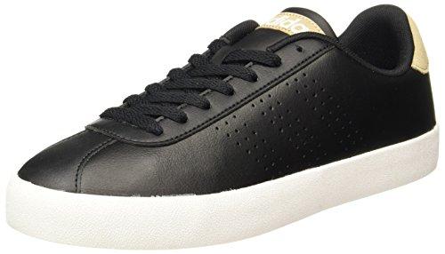 adidas Court Vulc, Zapatillas de Deporte para Hombre, Negro (Negbas/Negbas/Caqtra), 47 1/3 EU