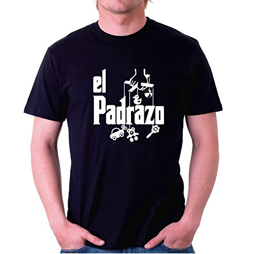 Custom Vinyl Camiseta Dia del Padre El padrazo (Video, S)