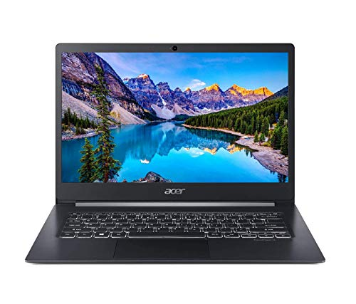 Acer TravelMate X5 14' FHD IPS Touchscreen Thin & Light Business Laptop (Intel Core i5-8265U, 8GB DDR4 RAM, 256GB SSD) Type-C, HDMI, Fingerprint Reader, Backlit Keyboard, Windows 10 Pro