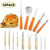 Pumpkin Carving Pro Kit for Halloween,Professional Jack-O-Lanterns Sculpting Pro Set Pumpkin Craft...