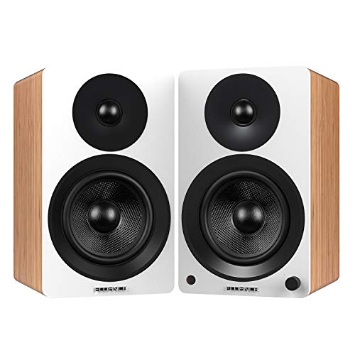 "Fluance Ai60 Powered Two-Way 6.5"" 2.0 Bookshelf Speakers"