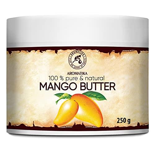 Mangobutter - 250g - Mangifera Indica aus Indonesia - Mango Körperbutter - Emollient - Mangokernöl - Mango Butter - Basisöl - für Sehr Trockene Haut - Haarkur - Hautpflege...