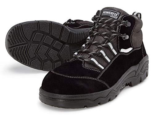 Powerfix Herren Sicherheitsschuhe S3 Profi Arbeitsschuhe Schuhe Sicherheitsstiefel Arbeitsstiefel Arbeitsschuhe Sicherheitsschuhe Rindleder Größe 41