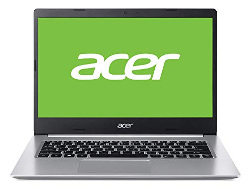 "Acer Aspire 5 - Ordenador Portátil de 14"" FullHD (Intel Core i7-10510U, 8GB RAM, 512GB SSD, UMA, Windows 10 Home) Plata, Qwerty Español"