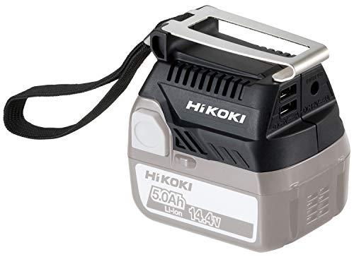 HiKOKI(ハイコーキ) 旧日立工機 14.4V 18V コードレスUSBアダプタ 14.4V/18Vリチウムイオン電池用 蓄電池、充電器別売り BSL18UA(SA)