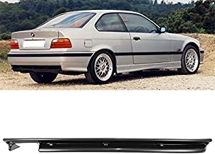 Unpainted Black Rear Diffuser M3 Style For 92-98 BMW 3 Series E36 Valance Kit