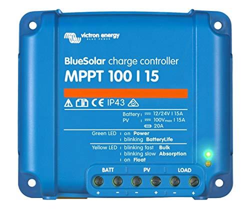 Victron Energy BlueSolar MPPT 100/15 12V 24V 15A, 1 Stück, 8719076025337